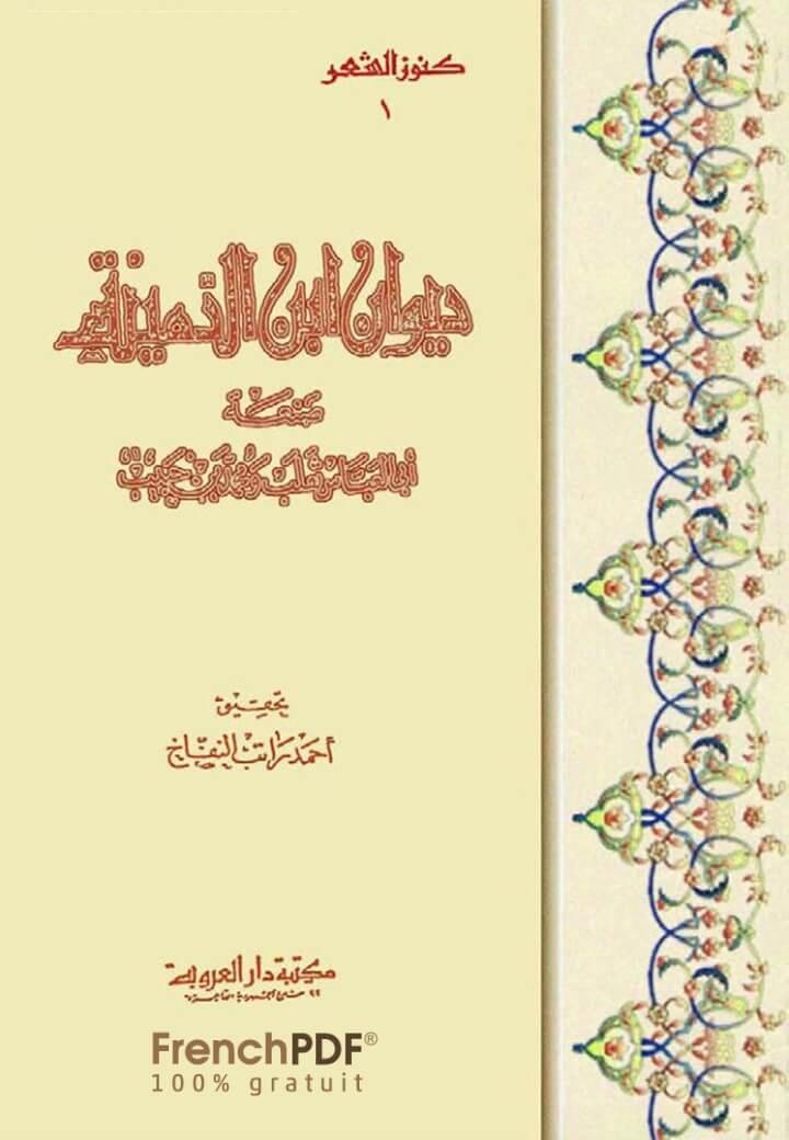 Photo of ديوان ابن الدمينة pdf تحقيق أحمد راتب النفاخ وتصدير محمود شاكر